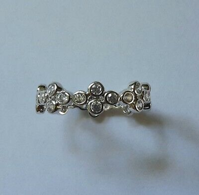 """Judith Williams """"Touch of Diamonds"""" Ring 925 Sterling Silbe , Größe 63 bzw.20"""