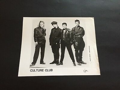 Culture Club Promotional Photograph