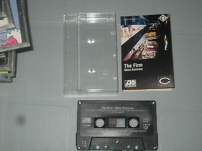 The Firm - Mean Business (Cassette, Tape) WORKING  Tested