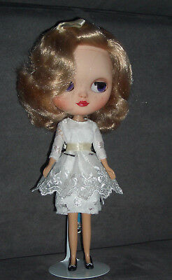 """Icy doll Blythe clone Custom Doll Puppe """"blonde Bombshell""""  nude"""