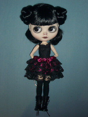 Neo Blythe Factory Custom Doll Puppe gothic Darling mit pure Neemo Body