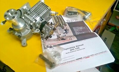 Cermark ( SPE ) 43cc Petrol Engine for Model Aircraft. New in box.