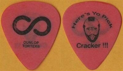 Hoobastank authentic 2003 tour issued Here's Yo Pick Cracker !!! Guitar Pick