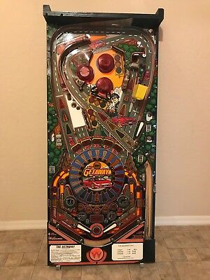 Getaway High Speed II 2 Pinball Playfield