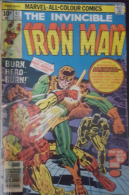 The Invincible Iron Man Nr. 92 Marvel US