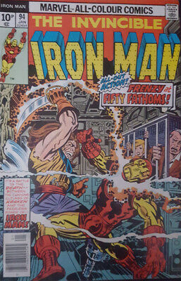 The Invincible Iron Man Nr. 94 Marvel US