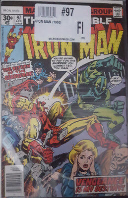 The Invincible Iron Man Nr. 97 Marvel US