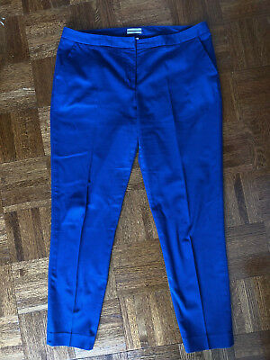 Halogen Nordstrom Taylor Fit Ankle Pants, Size 12, Royal Blue, Great Condition