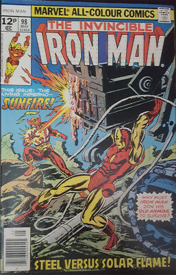 The Invincible Iron Man Nr. 98 Marvel US