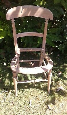 beech antique chair for restoration