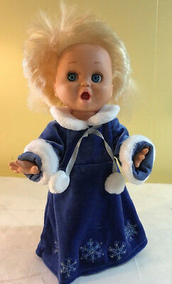 """BABY FACE """"So Surprised Suzie"""" Doll #2 GALOOB 1990 Poseable American Girl Dress"""