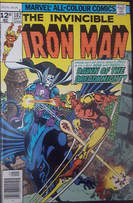The Invincible Iron Man Nr. 102 Marvel US