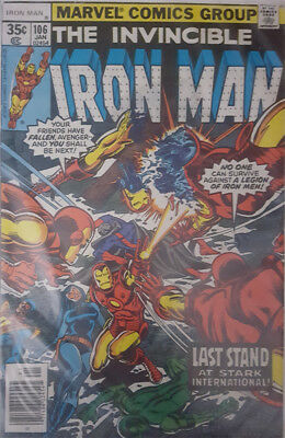 The Invincible Iron Man Nr. 106 Marvel US