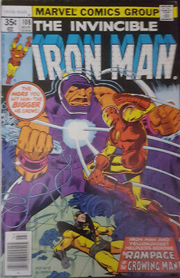 The Invincible Iron Man Nr. 108 Marvel US