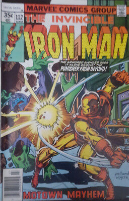 The Invincible Iron Man Nr. 112 Marvel US