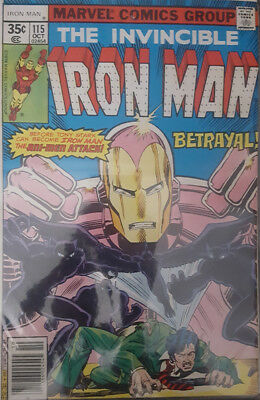 The Invincible Iron Man Nr. 115 Marvel US