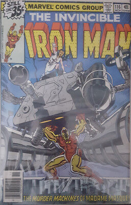 The Invincible Iron Man Nr. 116 Marvel US