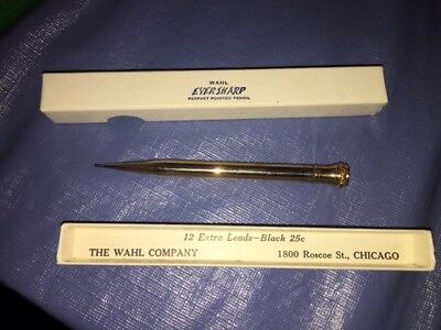 3 Vintage Gold Filled Wahl Ever Sharp Mechanical Pencil U.s.a. Nib 1919 Dated