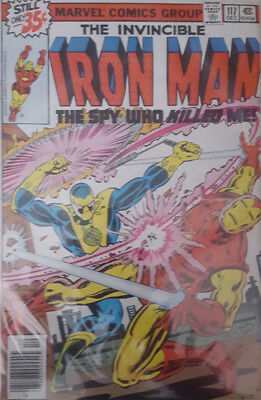 The Invincible Iron Man Nr. 117 Marvel US