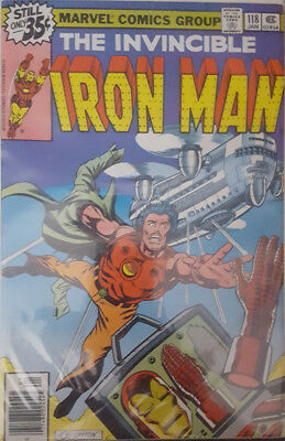 The Invincible Iron Man Nr. 118 Marvel US
