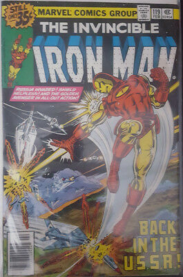 The Invincible Iron Man Nr. 119 Marvel US