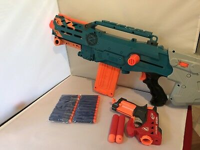 Nerf Bundle - Zombie Longshot CS12 & Mega Bigshock - Bullets Included