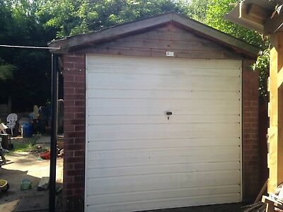 Concrete Sectional Garage - Single, Excellent Condition, Certified Asbestos Free