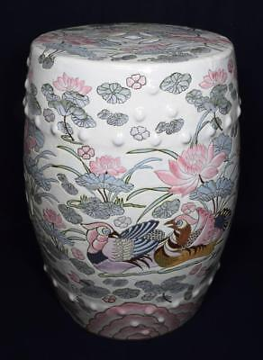 Chinese Pottery Garden Seat Republic Period 20thC