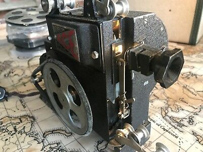 Original Vintage Pathescope Ace 9.5mm Projector  Bonzo Popeye And Mickey Mouse