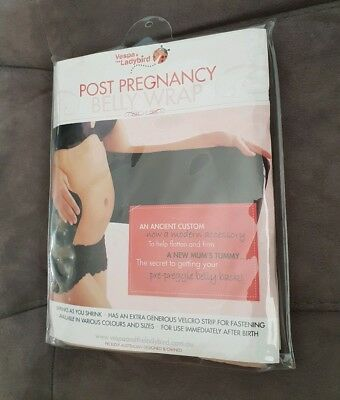 Vespa & The Ladybird Post Partum/pregnancy Belly Wrap - new unused - nude, large