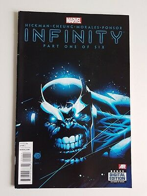 Marvel Comics Infinity # 1 of 6 October 2013 Thanos