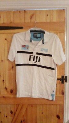 Fiji World Cup Rugby Union Shirt By Rugby World Cup Collection Size S - New