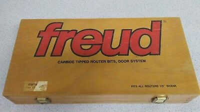 Freud Carbide Tipped Router Bits for Door System - 1/2 inch Shank. Item 94-100