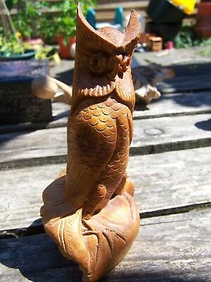 Antique Vintage German Black Forest Owl