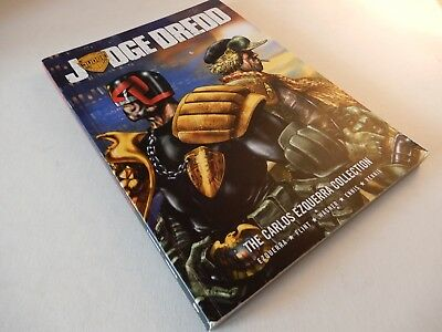 2000Ad Judge Dredd The Carlos Ezquerra Collection [Paperback 2007] Gc