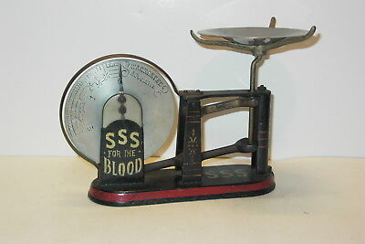Rare S.s.s. For The Blood Mercantile Scale Origional Condition / Paint