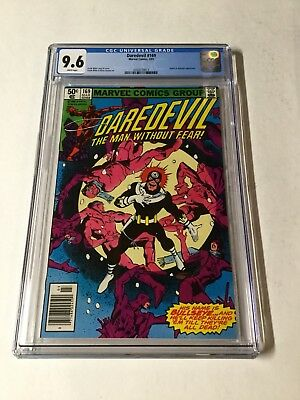 Daredevil 169 Cgc 9.6 White Pages 2nd Elektra And Also Bulleseye Appearance