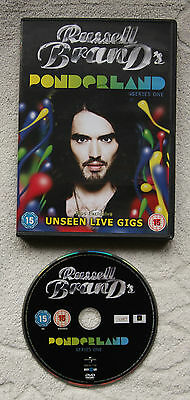 RUSSELL BRAND'S PONDERLAND Series 1 DVD 2008