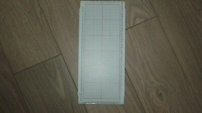 Set Of 5 Double Jacquard  Punchcards - Knitmaster/silver Reed Knitting Machines