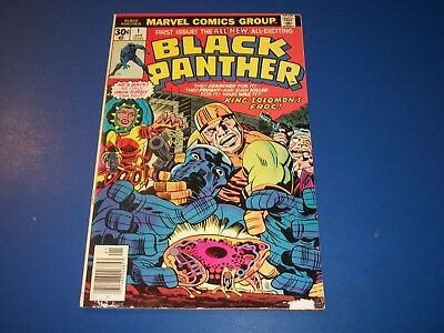 Black Panther #1 Bronze age Kirby 1st Issue Key Wow Wow