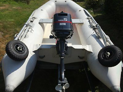 Zodiac Yachtline RIB With Outboard and Trailer