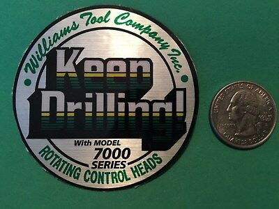Williama Keep Drilling Rotating Control Heads Tool Company 7000 Oil Field Gas Us