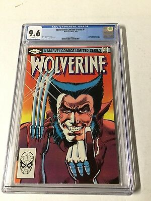 Wolverine 1 The Limited Series Cgc 9.6 White Pages