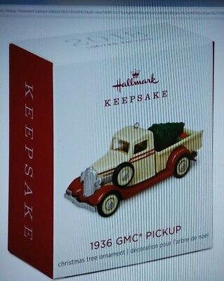 Hallmark 2018 1936 Gmc Pick Up Limited Quantity Mini