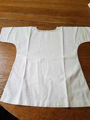 Antique Baby Chemise or Gown  for Doll