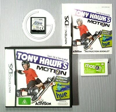Tony Hawk's Motion Includes Motion Pack - Nintendo DS Game - NDS