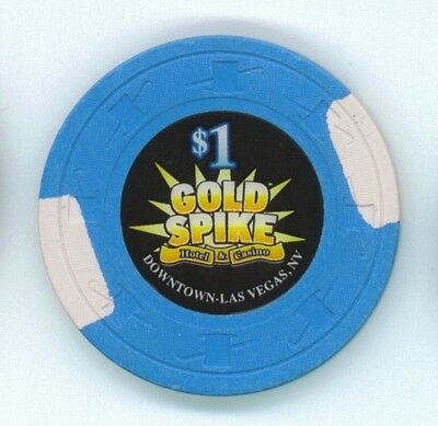 Gold Spike Hotel & Casino, Las Vegas $1 chip