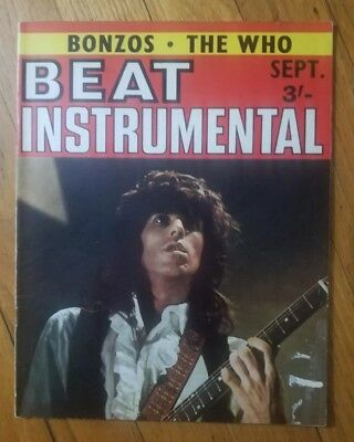 Beat Instrumental Magazine September 1969 Keith Richards