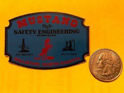 Mustang H2S Safety Engineering Nd Oil Well Oilwell Usa Ruff Neck Gas Oilfield