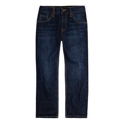 Levi's Boys' 505 Regular Fit Jeans - DARK BLUE (Select Size) * FAST SHIPPING *